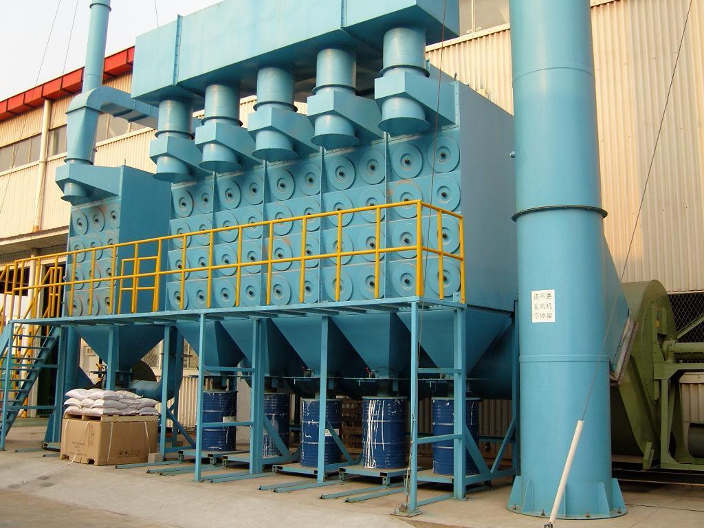 多室脉冲式大型工业滤袋除尘器