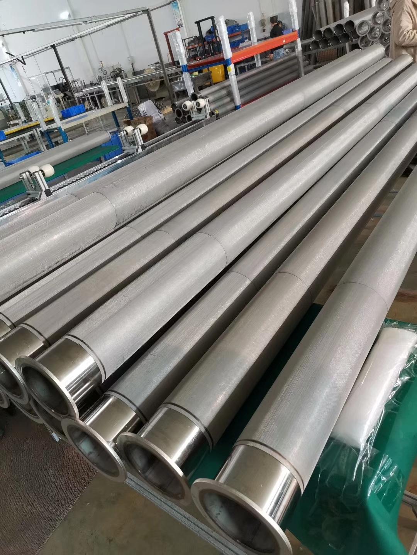 金属纤维耐高温耐腐蚀空气滤筒